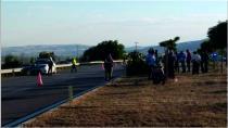 Otomobil motosikletle çarpıştı: 1 ölü, 4 yaralı