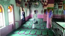 Sızır Kasabasında Dezenfekte Çalışmaları Yapıldı