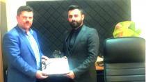 Sızır Belediye Başkanı Ali Tamer TSM Başkanı Dr. Önder Onur Balkaya'yı Ziyaret Etti