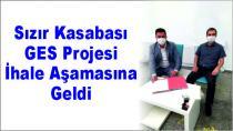 Sızır Kasabası GES Projesi İhale Aşamasına Geldi