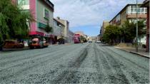İstanbul Caddesine Asfalt Yapıldı