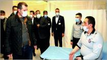 Vali Salih Ayhan ''Sağlıkçılarımız Şiddeti ve Taşkınlığı Hak Etmiyor''