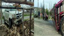 Sızır Çat Yolunda Trafik Kazası