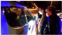 Kaymakam Kayatürk ve Belediye Başkanı Kılıçdağı Denetim Noktasını Ziyaret Etti