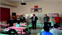 Belediye Başkanı Kılıçdağı Yüz Yüze Eğitime Başlayan Öğrecileri Ziyaret Etti