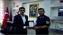 İlçe Jandarma Komutan Vekili Murat Uçar Ankara'ya Tayin Oldu